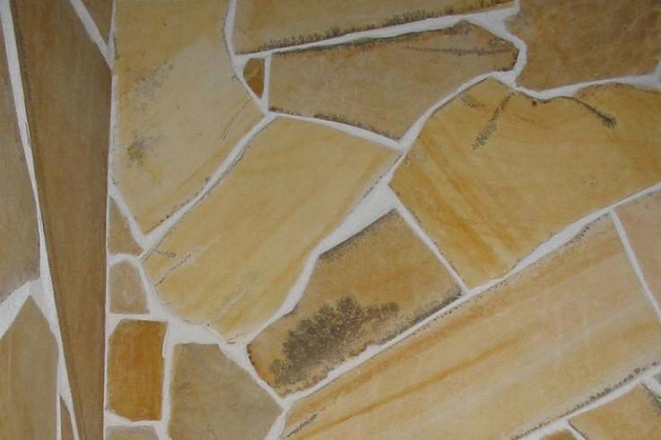 Vabakujuline loodusliku pinnaga paeplaat Fossilstone